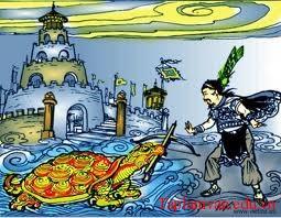 """Làm dàn ý trần thuật theo nguyên bản truyền thuyết dân gian """"Mị Châu, Trọng Thủy"""""""