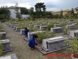 Hãy kể lại buổi lao động ở nghĩa trang liệt sĩ mà trường em tổ chức
