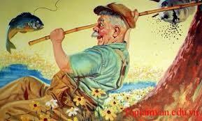 """ong lao danh ca 1 - Đọc truyện """"Ông lão đánh cá và con cá vàng"""" của Puskin và kể lại theo ngôi thứ nhất của ông lão đánh cá"""