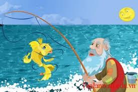 """Nếu là ông lão đánh cá trong truyện """"ông lão đánh cá và con cá vàng"""", em sẽ kể lại chuyện xảy ra với mình như thế nào"""