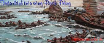 phân tích đoạn trích sau đây trong bài Phú sông Bạch Đằng của Trương Hán Siêu