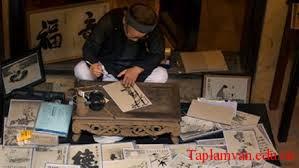 Bút lông nét văn hóa Trung Quốc
