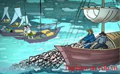 """Giới thiệu một vài nét về Huy Cận, xuất xứ và chủ đề bài thơ """"Đoàn thuyền đánh cá"""" của Huy Cận"""