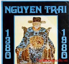 nguyen trai 1 - Nguyễn Trãi có lòng yêu nước thương dân sâu sắc