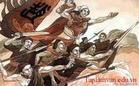 Nội dung chủ yếu của văn học từ thế kỉ X đến thế kỉ XV là tinh thần yêu nước, tinh thần quật khởi chống xâm lược.