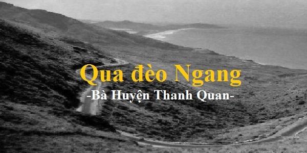 Em hãy nêu cảm nhận về bài thơ Qua đèo ngang của Bà Huyện Thanh Quan rất hay