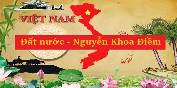 Cảm nhận của em về đoạn trích Đất Nước trong Trường ca Mặt đường khát vọng của nhà thơ Nguyễn Khoa Điềm