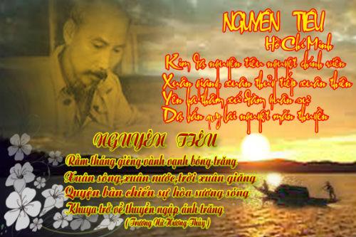 Em hãy nêu cảm nhận về bài thơ Nguyên tiêu của chủ tịch Hồ Chí Minh rất hay
