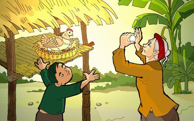 Em hãy nêu cảm nhận về bài thơ Tiếng gà trưa của nhà thơ Xuân Quỳnh rất hay